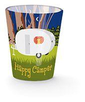 Shot Glass - Happy Camper