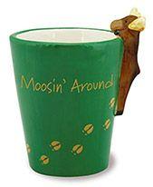 Ceramic Novelty Shot Glass - Moosin' Around