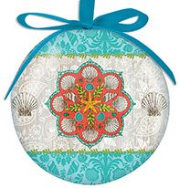 Ball Ornament - Boho Beach
