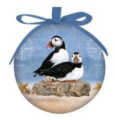 Ball Ornament - Puffin Rock