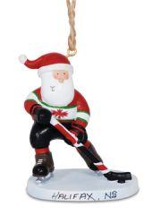 Resin Ornament - Hockey Player
