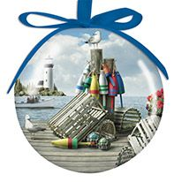 Ball Ornament - Dockside