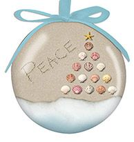 Ball Ornament - Peace