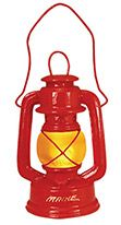 Light-up Resin Ornament - Red Iditarod Lantern