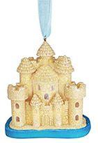 Light-up Resin Ornament - Sandcastle