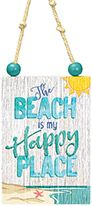 Sign Ornament - The Beach is my Happy Place