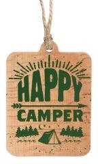 Sign Ornament - Happy Camper