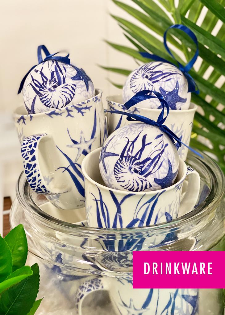 Coastal Drinkware