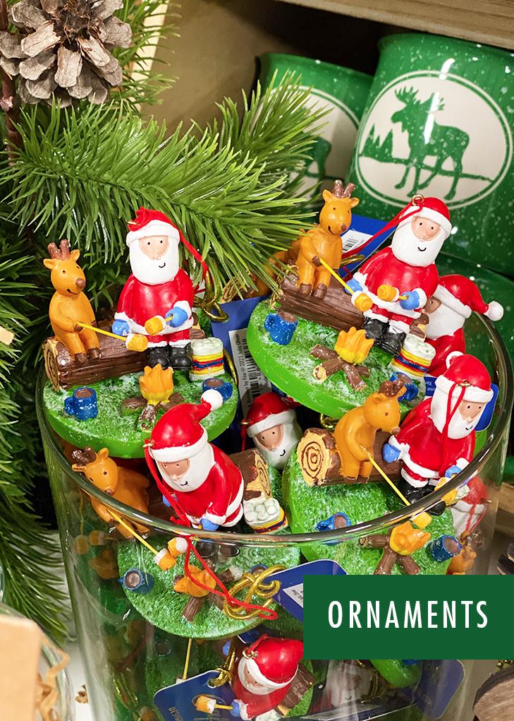 Lodge Ornaments