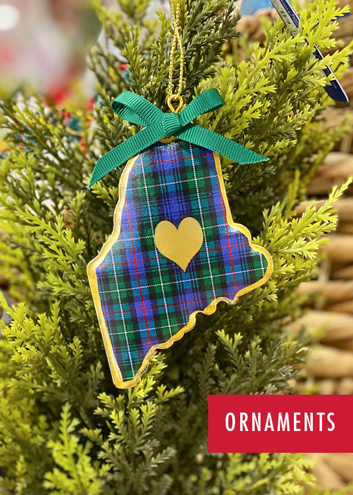 Maine Ornaments
