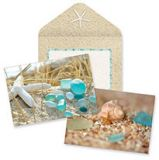 Boxed Notes - Beach Walk Sea Glass & Shells assortment