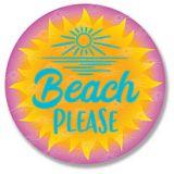 Sticker - Beach Please