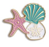 Enamel Pin - Shells