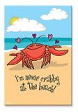 Souvenir Magnet - Never Crabby
