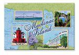 Souvenir Magnet - Mackinac Island