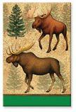 Souvenir Magnet - Two Moose