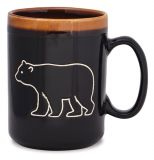 Hand Glazed Mug - Bear