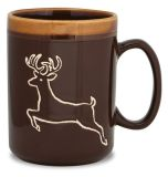 Hand Glazed Mug - Deer