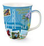 Harbor Mug - Mackinac Bridge Collage
