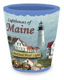 Ceramic Shot - Lighthouses of Maine