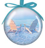 Ball Ornament - Adirondack Chairs