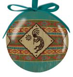 Ball Ornament - Kokopelli