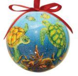 Ball Ornament - Sea Turtle Reef