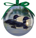 Ball Ornament - Tranquil Moment Loon