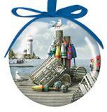 Ball Ornament - Dockside