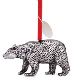 Cast Metal Ornament - Bear