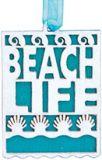 Laser Cut Wood Ornament - Beach Life