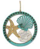 Laser Cut Wood Ornament - Shells