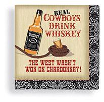 Beverage Napkin 24 ct Real Cowboys