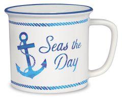 Cottage Mug - Seas the Day