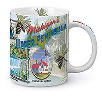 Shore Mug - Michigan Upper Penninsula