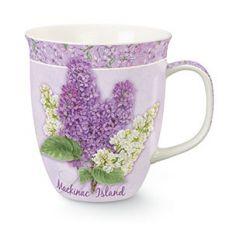 Harbor Mug - Lilac Blossom Mackinac