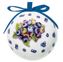 Ball Ornament - Blueberry