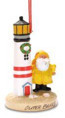 Resin Ornament - Salty & Lighthouse