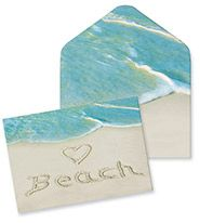 Boxed Notes - <3 Beach