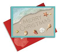 Embellished Christmas Cards - Merry Christmas