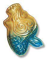 Mini Potter's Dish - Mermaid