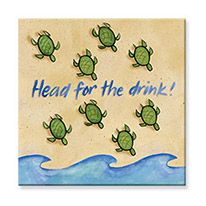 Souvenir Magnet - Head for the Drink