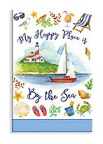 Souvenir Magnet - My Happy Place is by the Sea