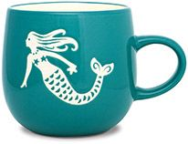 Batik Mug - Mermaid