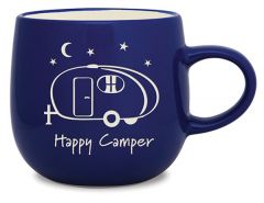 Batik Mug - Happy Camper