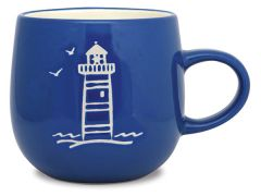 Batik Mug - Lighthouse