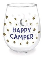 Wine Tumbler - Happy Camper