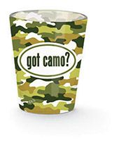 Shot Glass - Got Camo?