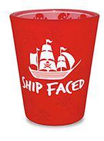 Velvet Shot Glass - Pirate Ship - Shipfaced