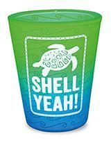 Velvet Shot Glass - Turtle - Shell Yeah!